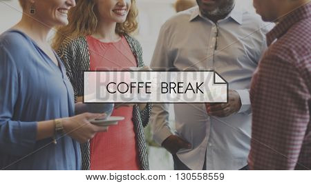 Cafe Coffee Break Relax Rest Concept