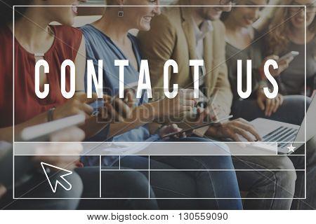 Chat Communication Blog Webpage Information Concept