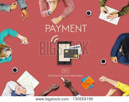 Online Payment Money Remittance Transfer Finance Concept