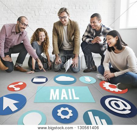 Mail Communication Message Conversation Concept