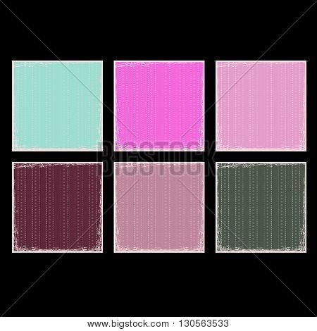Grunge clear backdrop for greeting card design. Square background. Vector illustration.