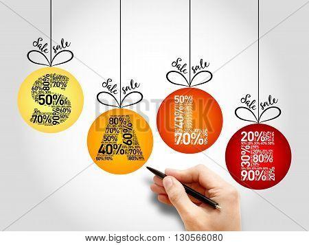 Sale Discount Christmas Balls