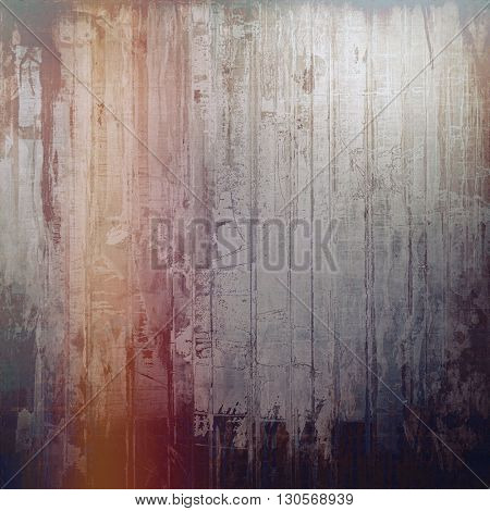 Vintage retro frame or background, old school textured backdrop. With different color patterns: yellow (beige); brown; blue; gray; red (orange); purple (violet)