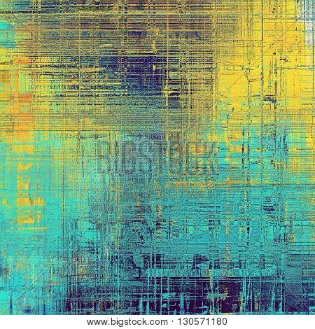 Cute colorful grunge texture or tinted vintage background. With different color patterns: yellow (beige); blue; red (orange); purple (violet); cyan
