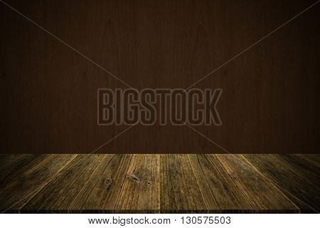 Wood Texture Surface Vintage Style With Wood Terrace