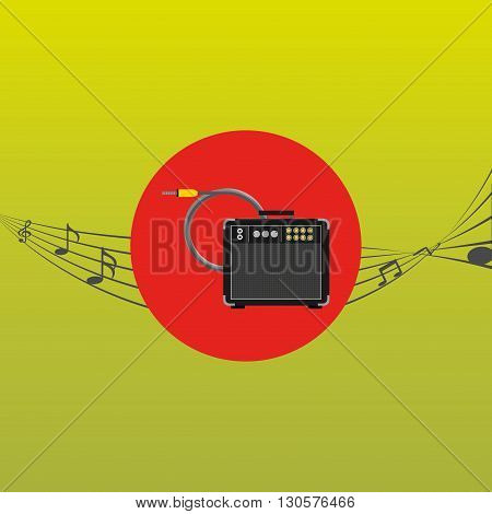 musical production design, vector illustration eps10 graphic