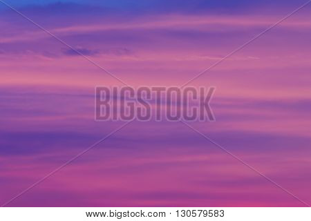 Dramatic sky background during sunset, natural texture background