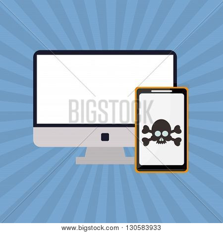 Technology concept with icon design, vector illustration 10 eps graphic.