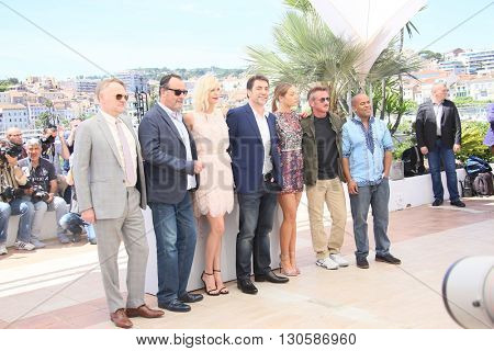 Charlize Theron attends the 'The Last Face' Photocall at the annual 69th Cannes Film Festival at Palais des Festivals on May 20, 2016 in Cannes, France.