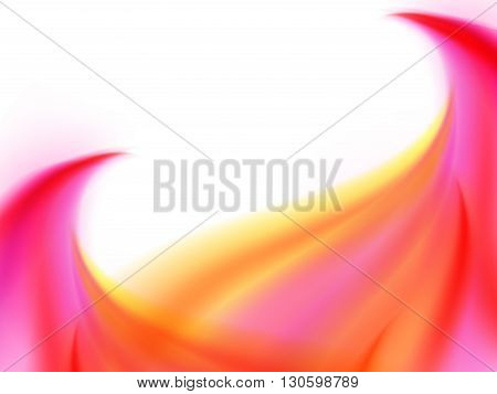 Abstract Background Of Bright Pink Yellow Lines