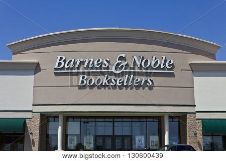 Indianapolis - Circa May 2016: Barnes & Noble Retail Location. Barnes & Noble is a leading retailer of content, digital media and educational products in the country I