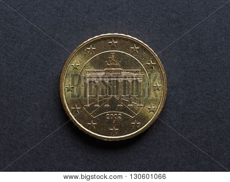 Fifty Cent Euro Coin
