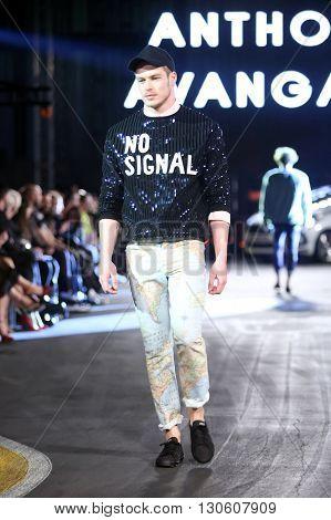 Cro A Porter Fashion Show : Anthony Avangard, Zagreb, Croatia