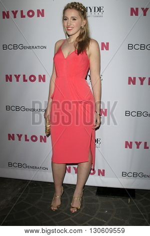 LOS ANGELES - MAY 12:  Harley Quinn Smith at the NYLON Young Hollywood May Issue Event at HYDE Sunset on May 12, 2016 in Los Angeles, CA