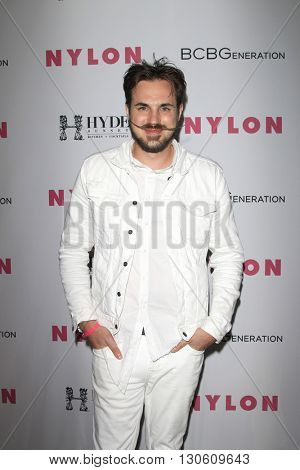 LOS ANGELES - MAY 12:  Jamieson Hill at the NYLON Young Hollywood May Issue Event at HYDE Sunset on May 12, 2016 in Los Angeles, CA