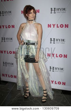 LOS ANGELES - MAY 12:  Dani Thorne at the NYLON Young Hollywood May Issue Event at HYDE Sunset on May 12, 2016 in Los Angeles, CA