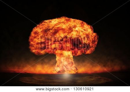 Nuclear explosion in