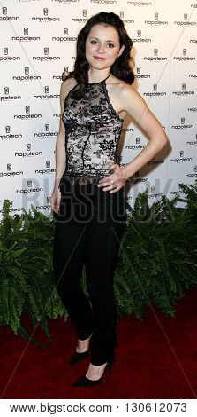 Sasha Cohen at the Napoleon Perdis Hollywood Store Unveiling  held at the Napoleon Perdis in Hollywood, USA on May 1, 2007.