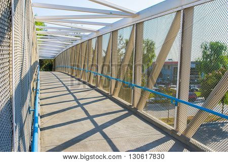 Fenced Walking Bridge