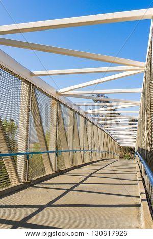 Long Bike Bridge For Exercise