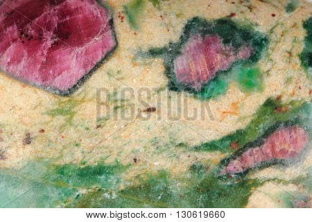 Ruby Mineral Texture
