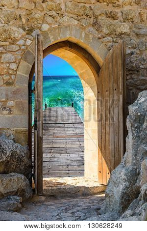 Arch Open Door Fortress