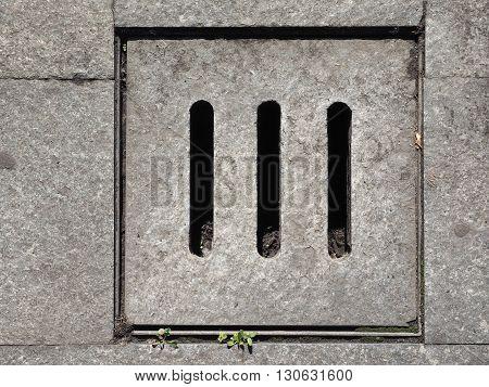 Detail Of Manhole