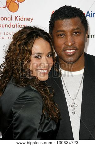 Kenneth 'Babyface' Edmonds at the National Kidney Foundation of Southern California's 28th Annual Gift of Life Celebration held at the Warner Bros. Lot in Burbank, USA on April 29, 2007.