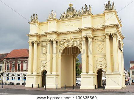 POTSDAM, GERMANY - JUNE 6, 2012: Historic quarter of Potsdam on June 6, 2012 in Germany