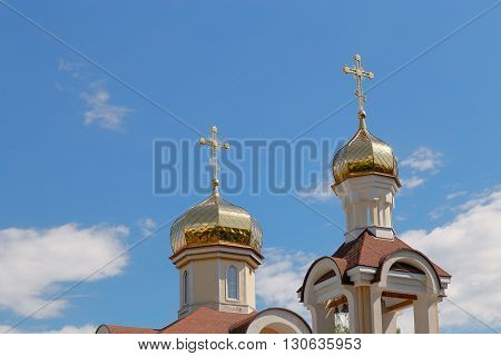 Church Of St. Nicholas In The Village Romanowicz Gomel District, Belarus.