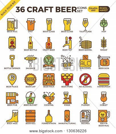 Craft Beer Icons