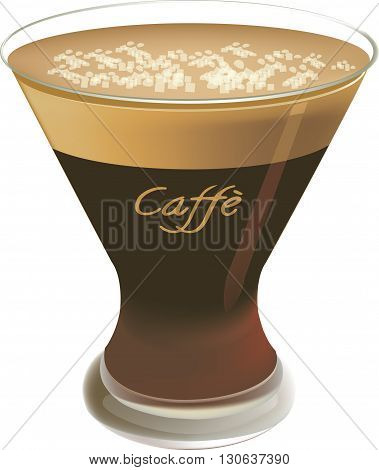blended coffee drink served cold cool summer