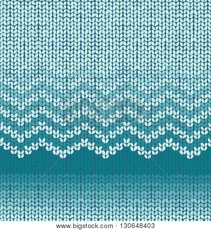 Vector abstract Knitting Seamless geometric Pattern. Knitted Texture. Retro Knit fabric