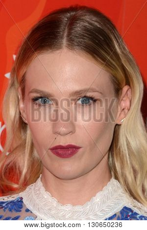 LOS ANGELES - MAY 20:  January Jones at the Step Up Inspiration Awards at Beverly Hilton Hotel on May 20, 2016 in Beverly Hills, CA