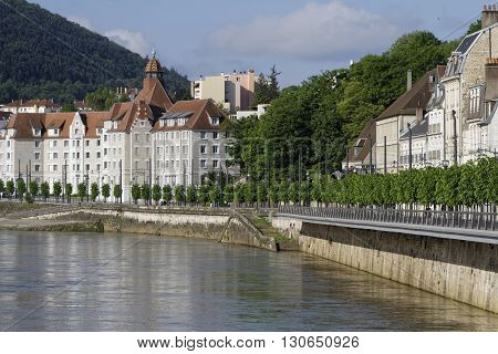 BESANCON FRANCE May 15 2016 : Besancon has been labeled a