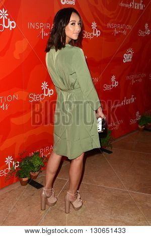 LOS ANGELES - MAY 20:  Cara Santana at the Step Up Inspiration Awards at Beverly Hilton Hotel on May 20, 2016 in Beverly Hills, CA