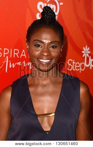 LOS ANGELES - MAY 20:  Adina Porter at the Step Up Inspiration Awards at Beverly Hilton Hotel on May 20, 2016 in Beverly Hills, CA