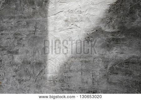 Concrete texture with shade and shadow, horizontal