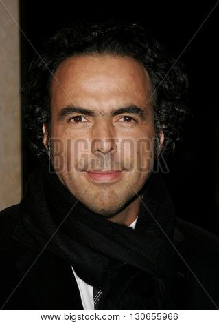 Alejandro Gonzalez Inarritu at the 57th Annual ACE Eddie Awards held at the Beverly Hills Hotel in Beverly Hills, USA on February 18, 2007.