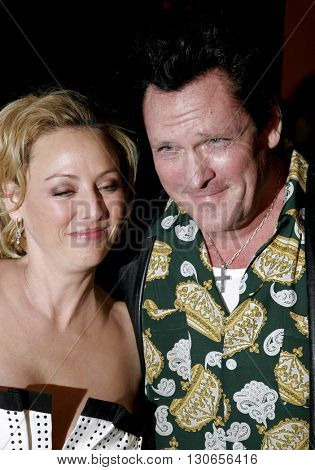 Michael Madsen and Virginia Madsen at the Los Angeles premiere of 'The Astronaut Farmer' held at the Cinerama Dome in Hollywood, USA on February 20, 2007.