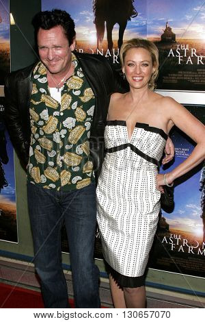 Virginia Madsen and Michael Madsen at the Los Angeles premiere of 'The Astronaut Farmer' held at the Cinerama Dome in Hollywood, USA on February 20, 2007.