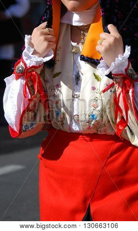 The ancient tradition and Folk of Sardinia