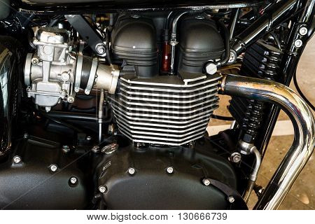 Motorcycle engine engineering internal combustion engine (ICE)