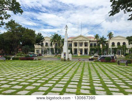 Laoag Philippines - July 7 2015 : Ilocos Norte Provincial Capitol