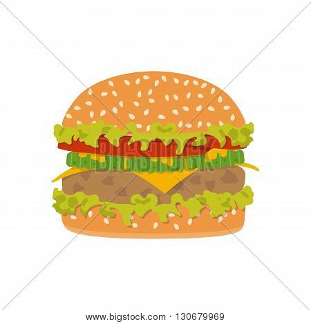 Hamburger Icon. Vector