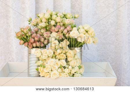 Bouquet of mini roses