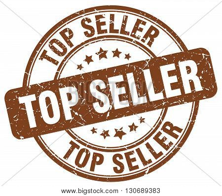 top seller brown grunge round vintage rubber stamp