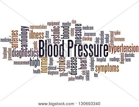 Blood Pressure, Word Cloud Concept 5