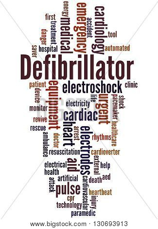 Defibrillator, Word Cloud Concept 6