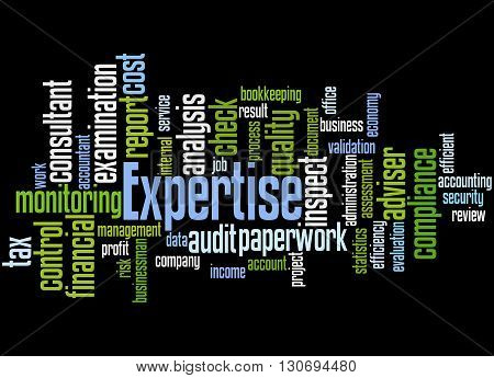 Expertise, Word Cloud Concept 4